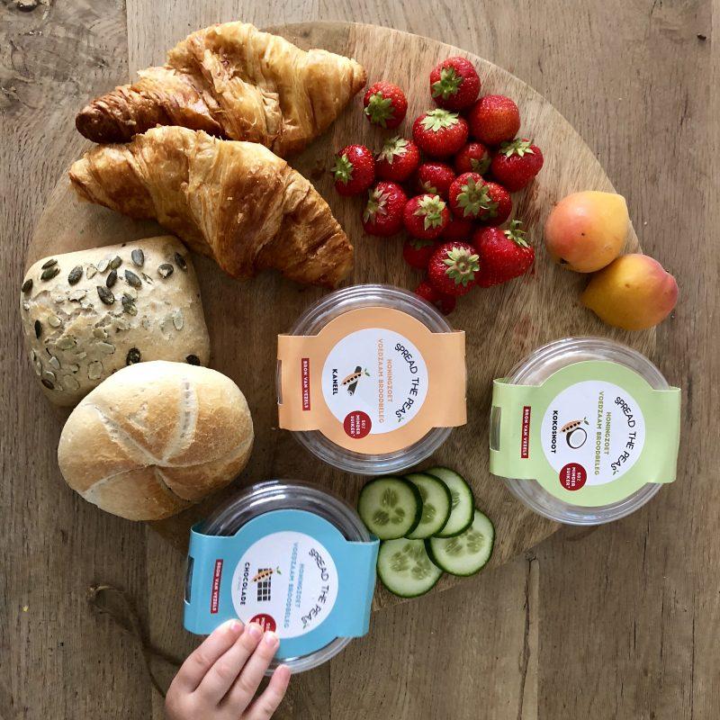 Broodbeleg van peulvruchten alternatief voor de kinderboterham!: Spread the peas!