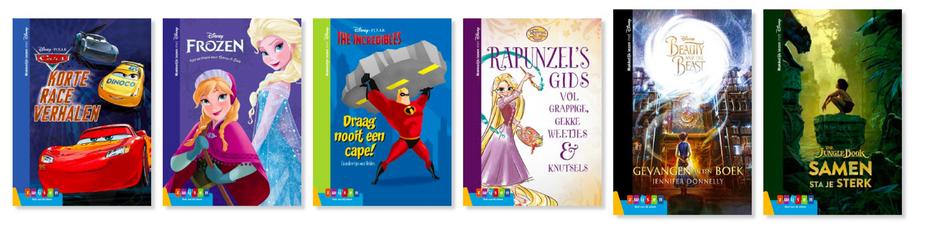 Makkelijk lezen met Disney en Zwijsen voor kinderen met dyslexie! Ze slaan de handen ineen.