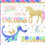 unicorn & dragons party verkleedkleding