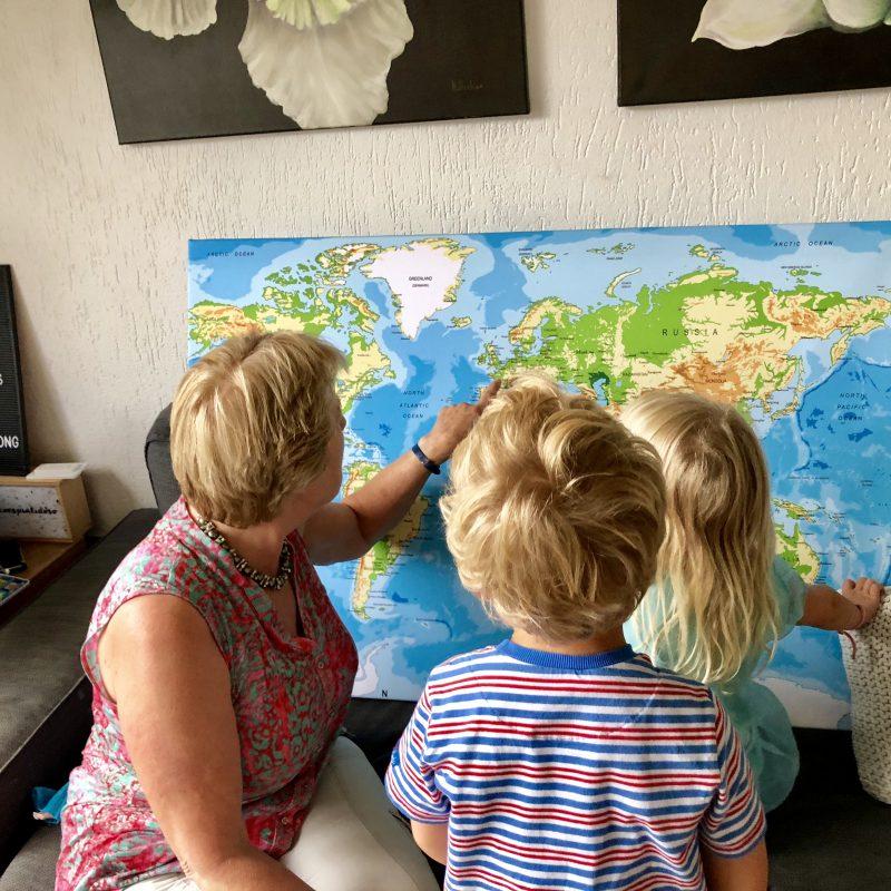 Toffe trend voor aan de wand: de wereldkaart