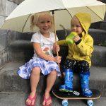 Regenkleding, geen moeder ontkomt hier aan! Tijd voor actie, de R komt in de maand