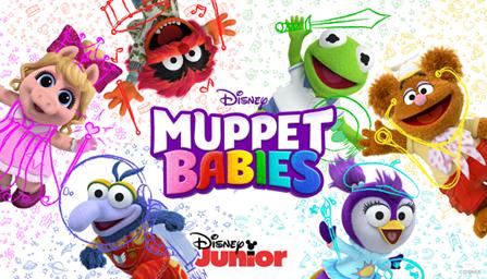 """De muppets zijn terug! Kinder zender Disney Junior lanceert nieuwe serie """"Muppet Babbies"""""""