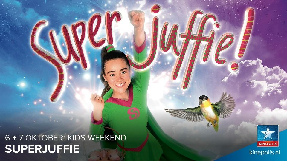 Superjuffie toverkrachten in de Kinepolis bioscopen tijdens Kids Weekend: SAVE THE DATE