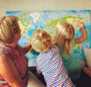 wereldkaart weekoverzicht
