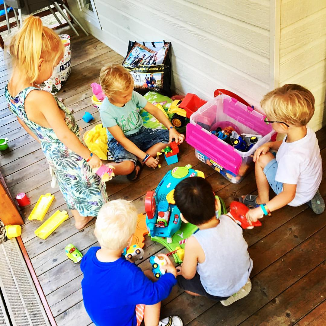 klik Camping le pin parasol speelgoed opruim