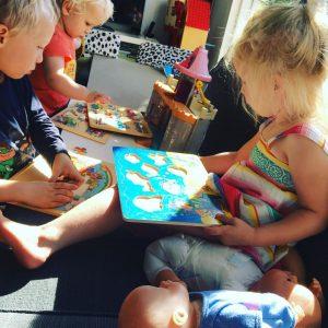 spelen kinderen binnen spelideeën puzzel
