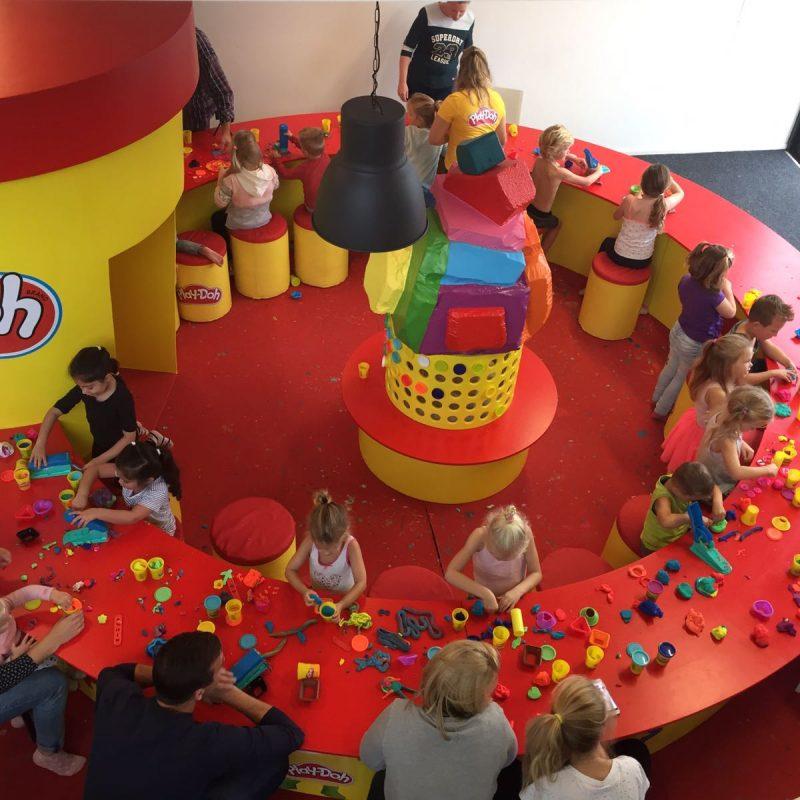 Het was een groots 'Play Doh' klei festijn in Ballorig Alphen Aan Den rijn