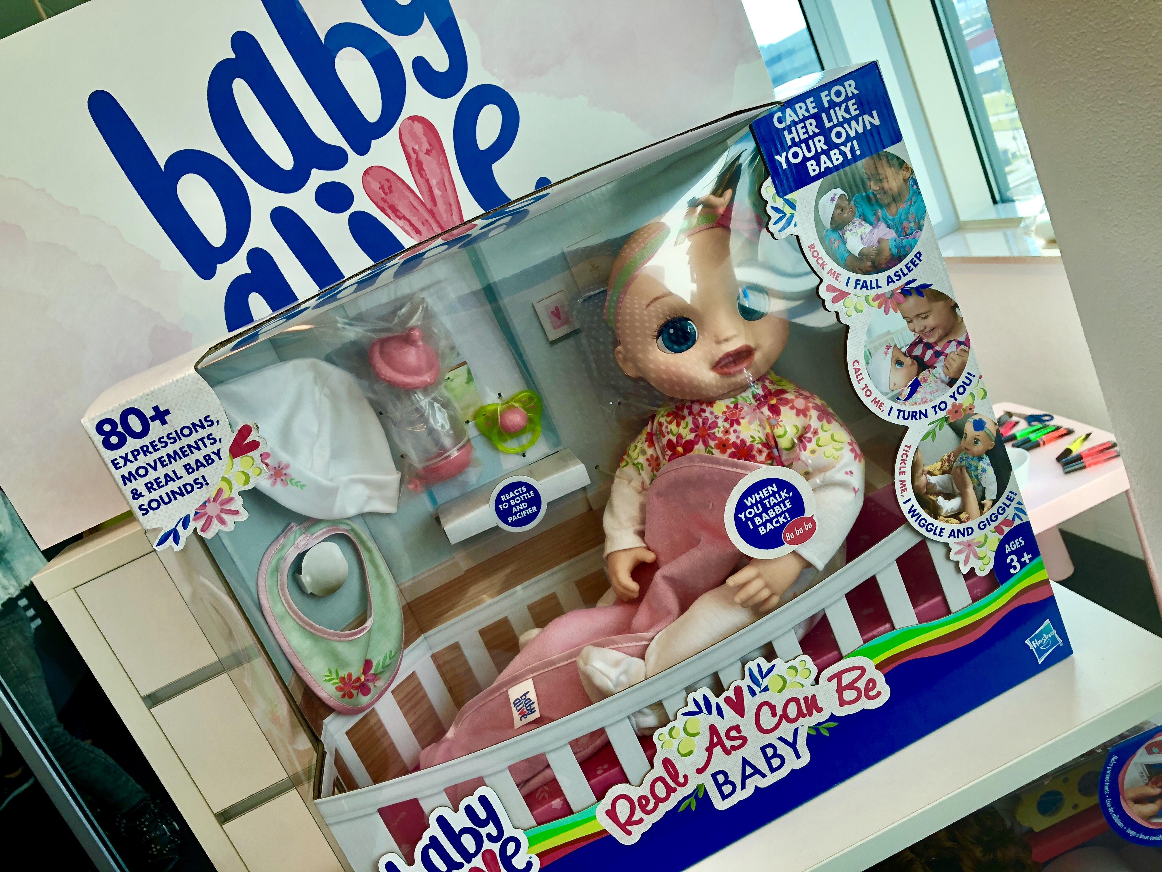 Interactief speelgoed babyalive