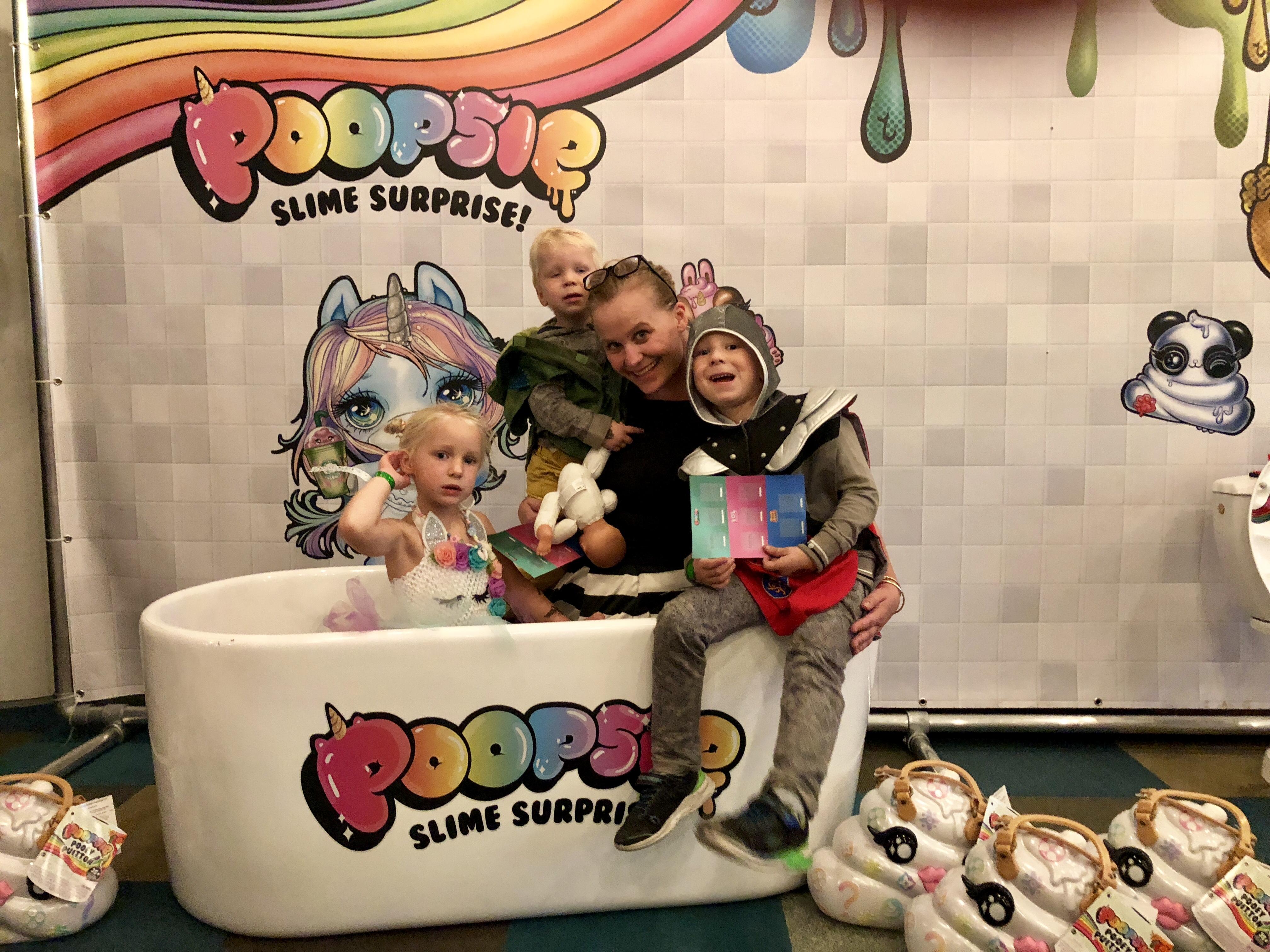 poopslie slime unboxing event