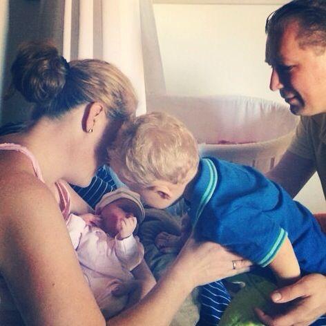 zwangerschapstest bevallen baby