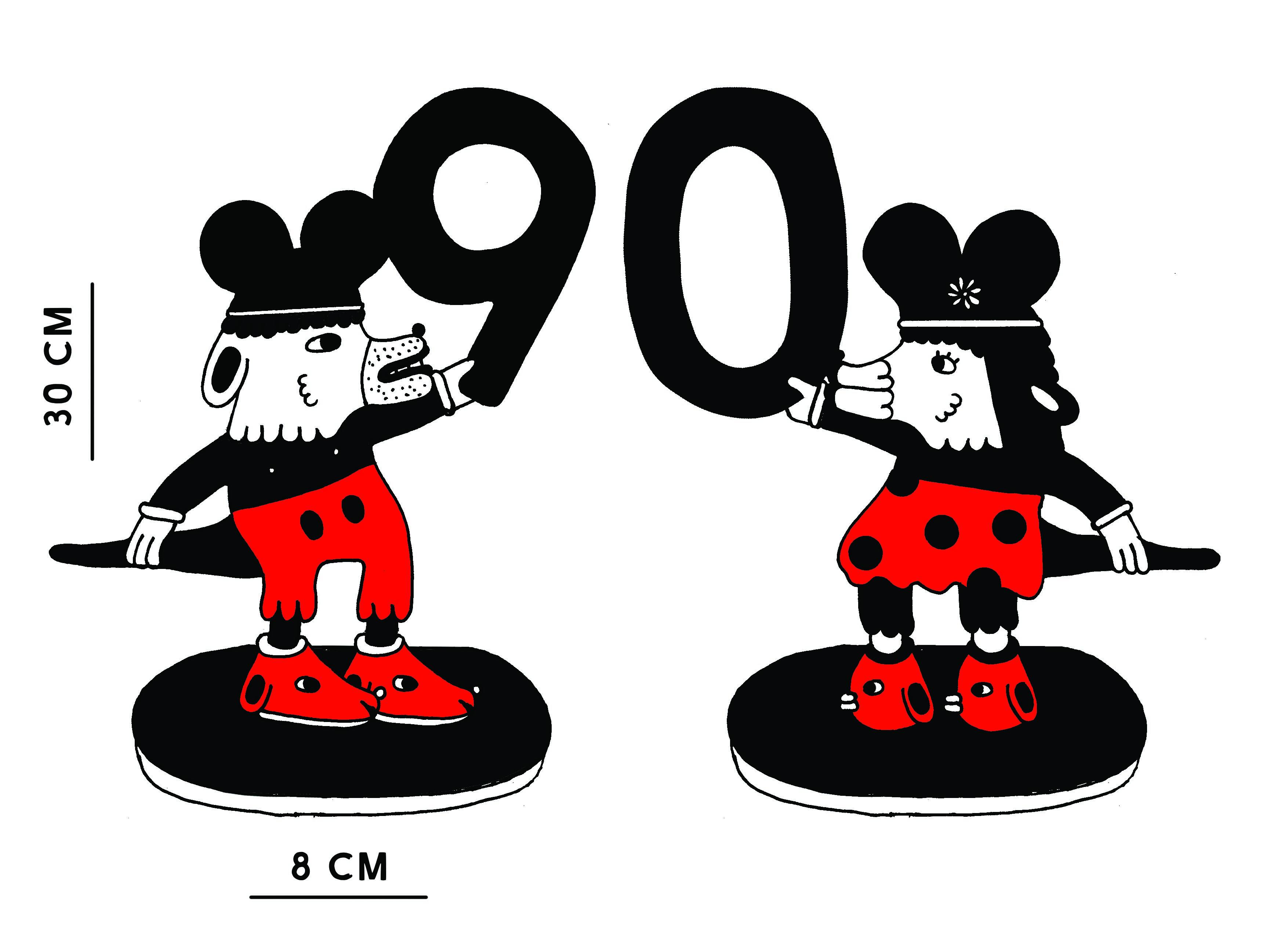 mickey 90 jaar MOAM