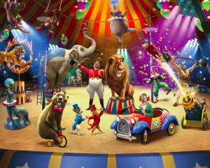 circus behang