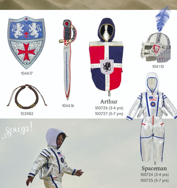 verkleden souza, ridder, Franse Puy du Fou