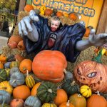 Griezelen in Kinderpretpark Julianatoren dat omgetoverd is in Halloween sferen!