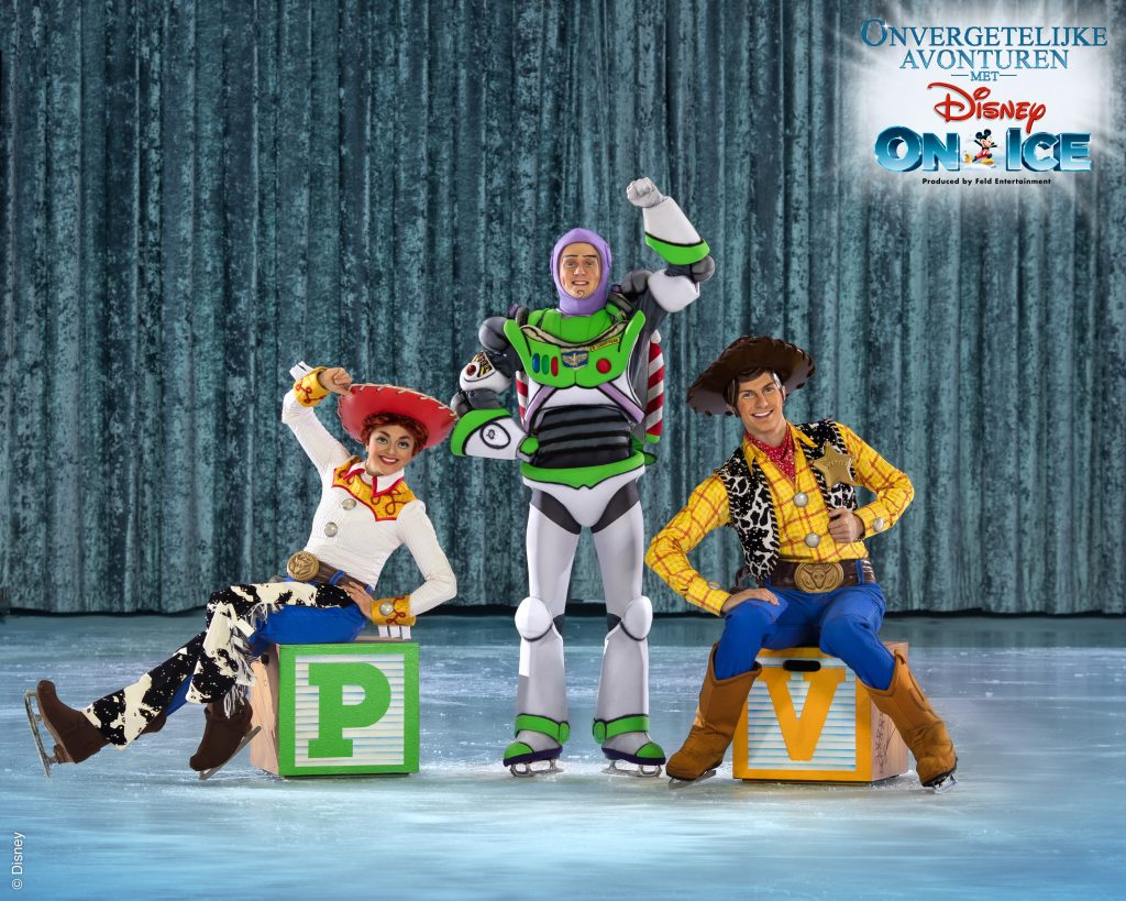 Disney on Ice ijsshow, toy story 4