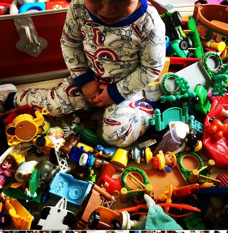 speelgoed opruimweken