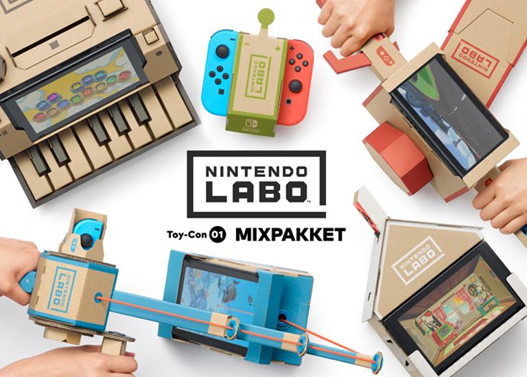 Nintendo: Labo mixpakket