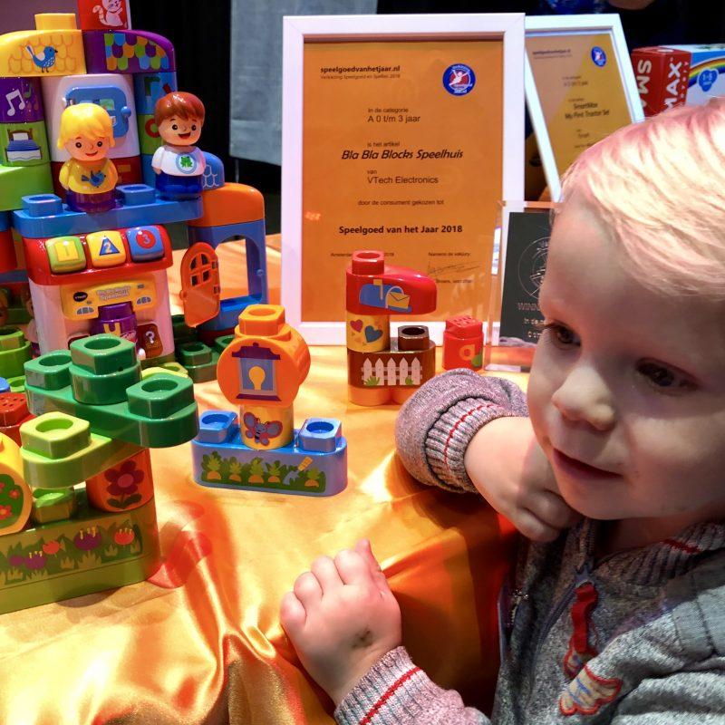Bla Bla Blocks Speelhuis is Winnaar Speelgoed van het Jaar 2018!