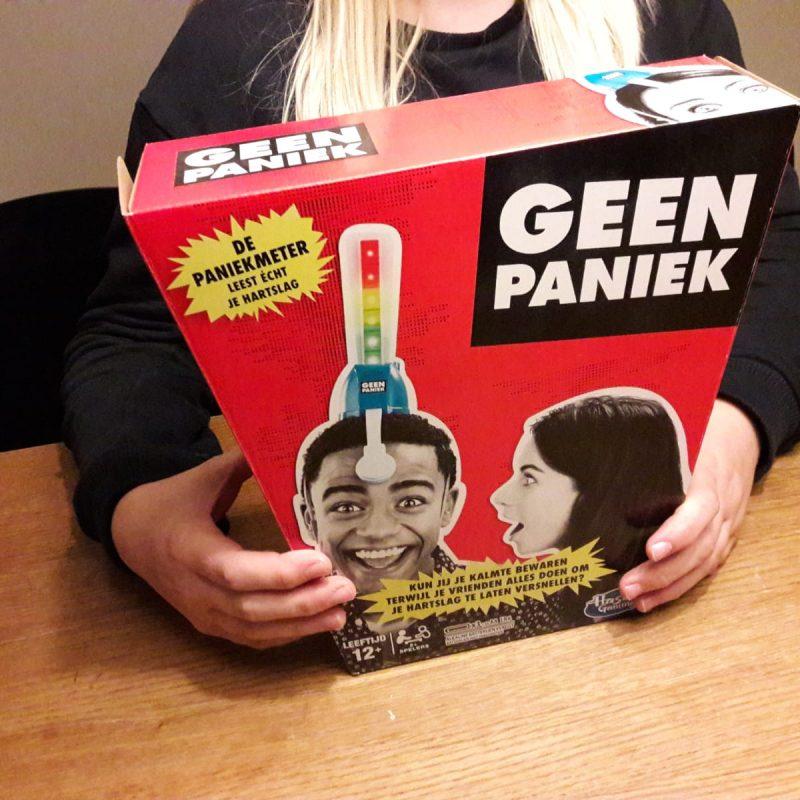 Het 'Geen paniek spel' van Hasbro werd uitgebreid getest