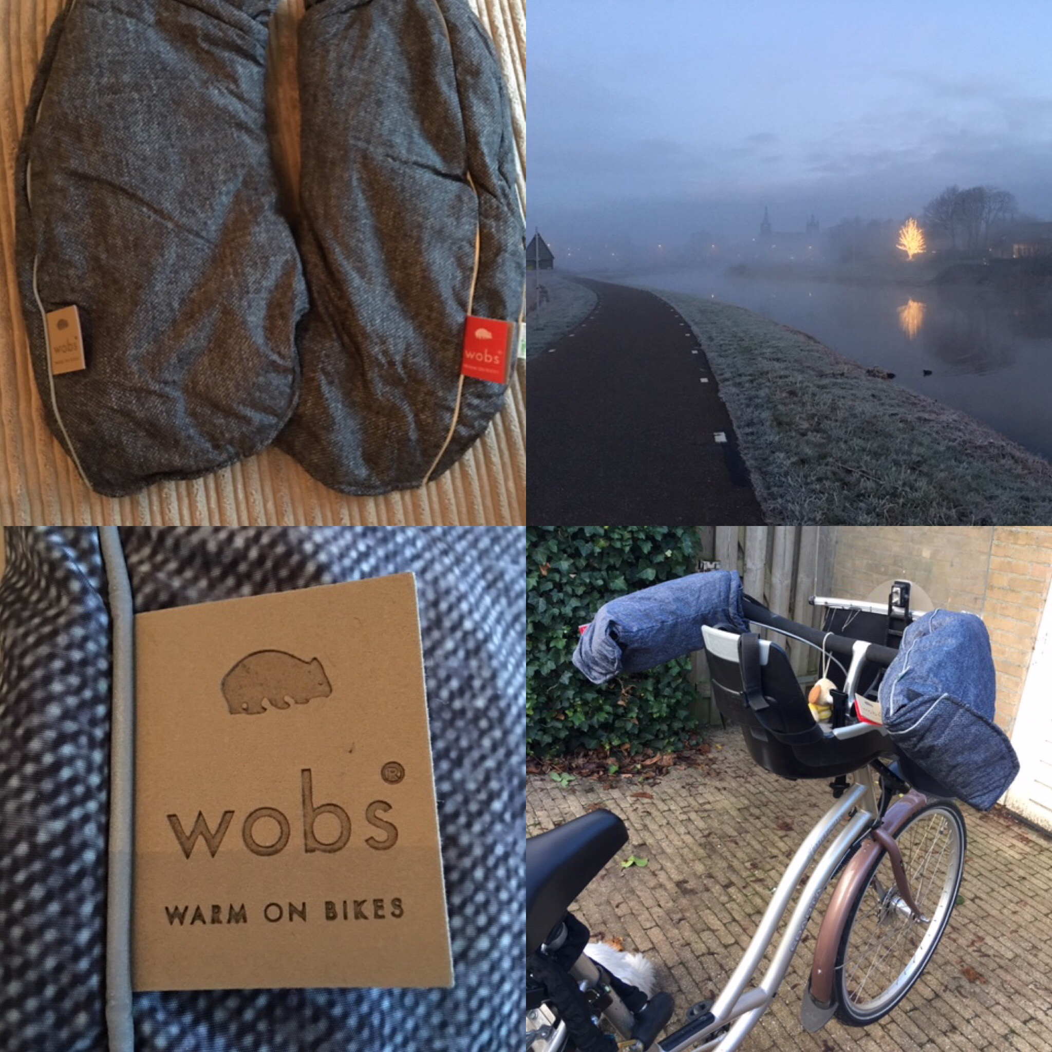 wobs warm fietsen wanten mob