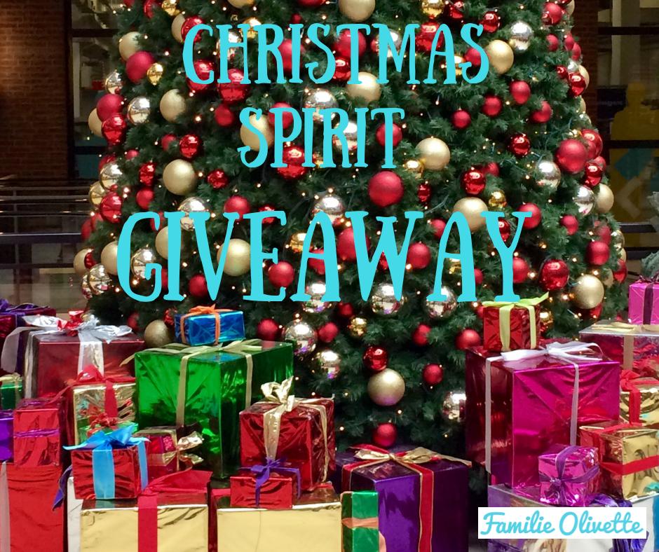 Christmas Spirit Giveaway 2019 ~ een rijkelijk, door ons gevuld prijzenpakket die JIJ kan weggeven!