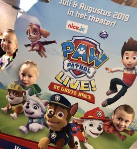 Nick jr Winterbios Paw Patrol