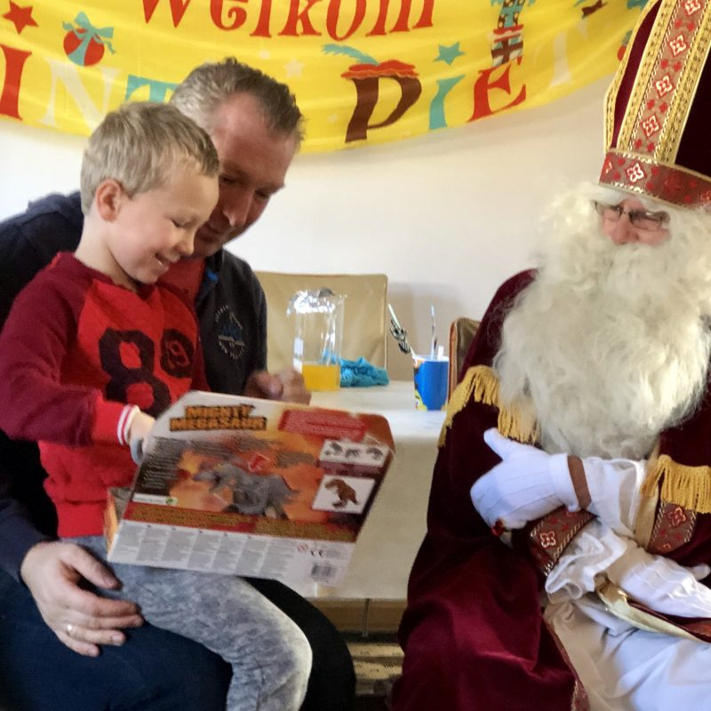 Sinterklaasje kom maar binnen met je vriend… en dag, dag, dag .. tot volgend jaar