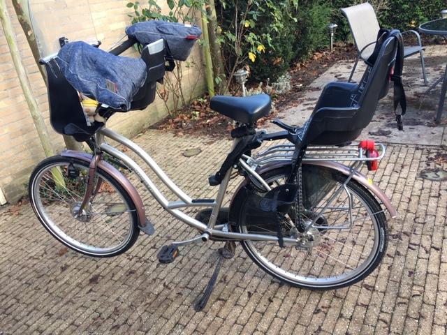 wobs warme wanten met fietsen
