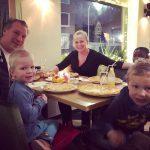 pizzeria toetjes kerstvakantie