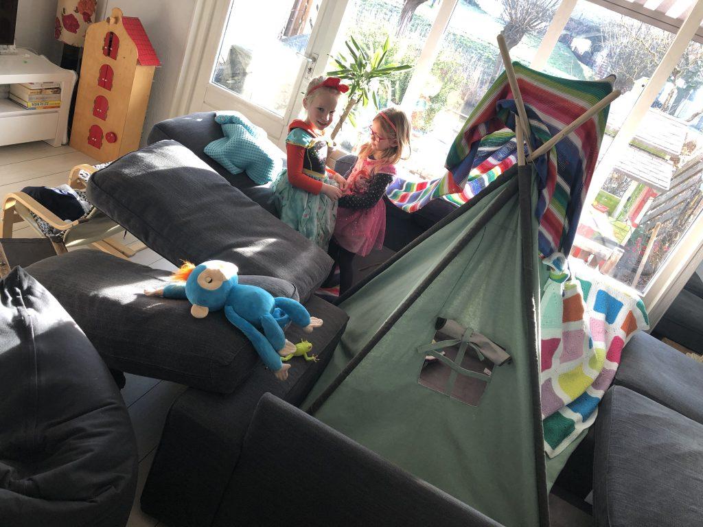 hutten bouwen weekoverzicht