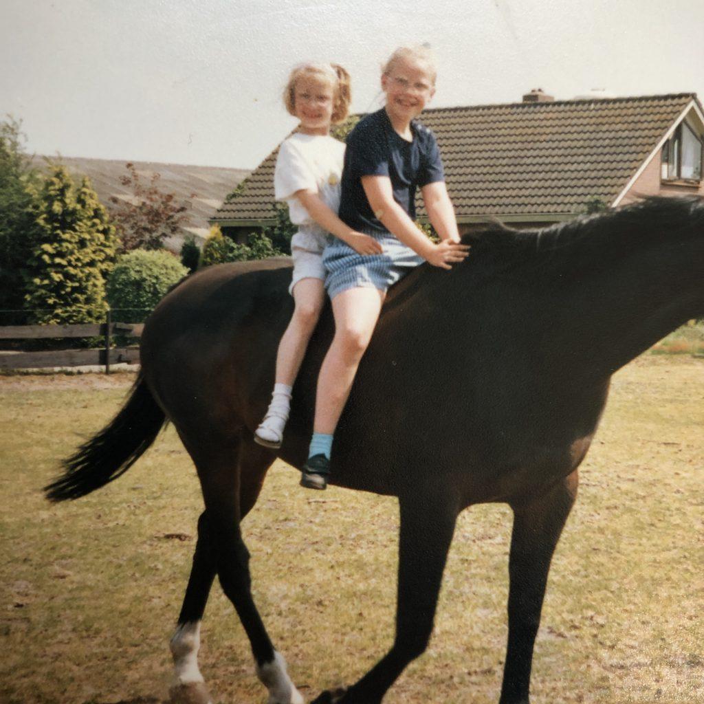 sporten paard paardrijen