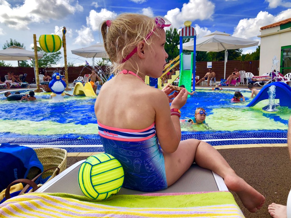 zwemles zwembad, warm weer