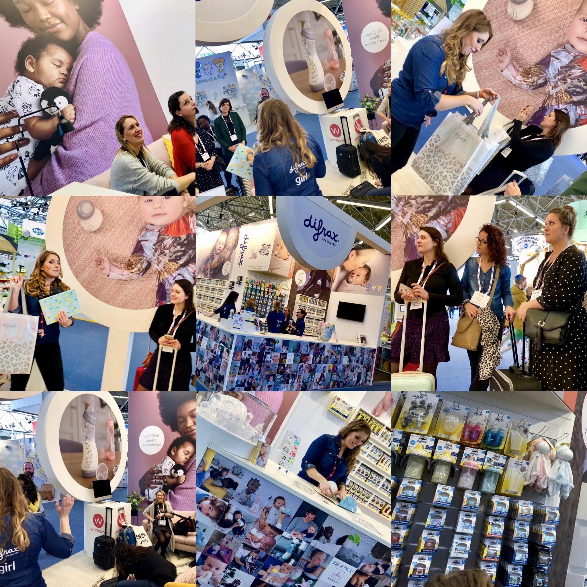 Difrax babyproducten bloggerstour negenmaandenbeurs