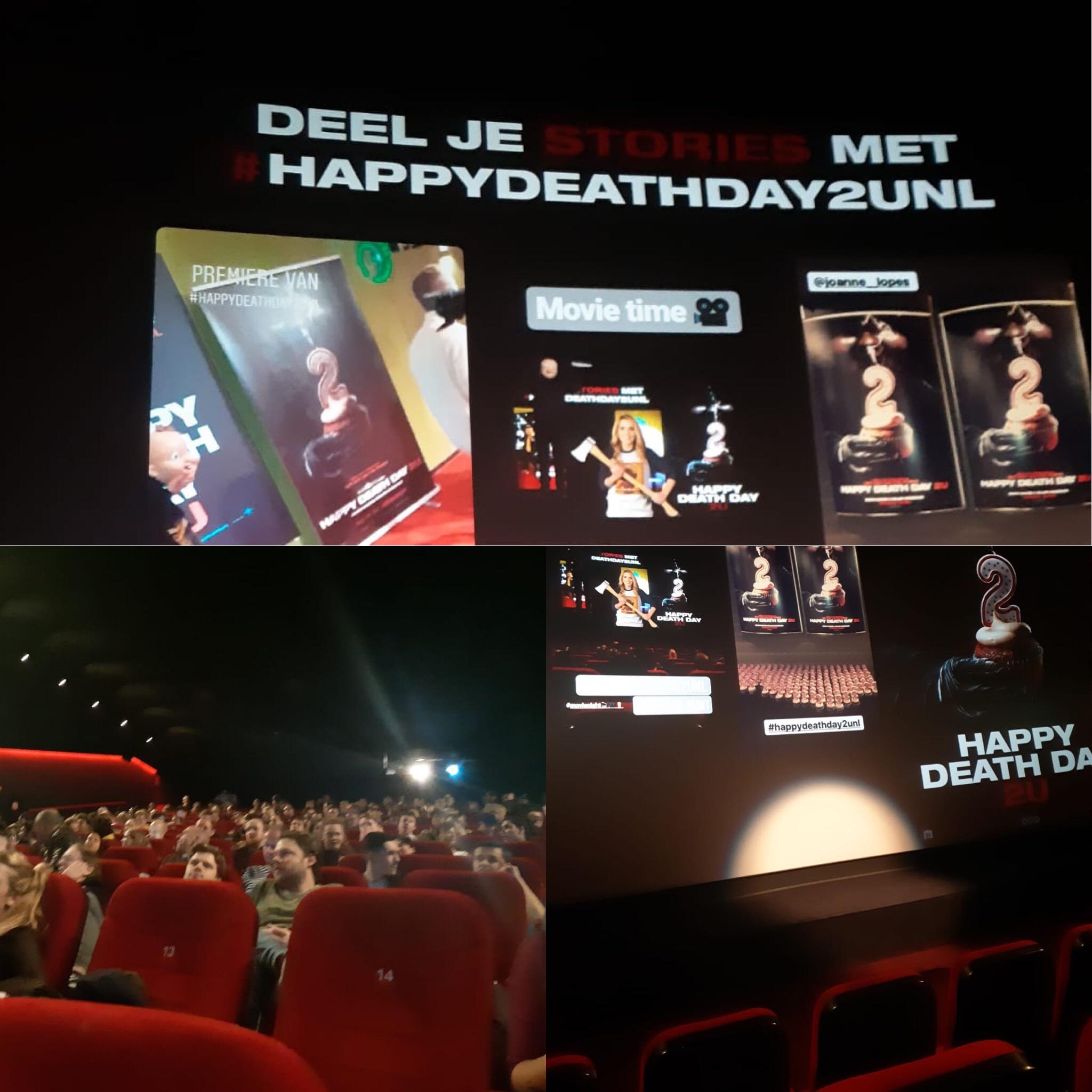 Speciale HAPPY DEATH DAY 2U vertoning, maar is deze film niet te veel horror?
