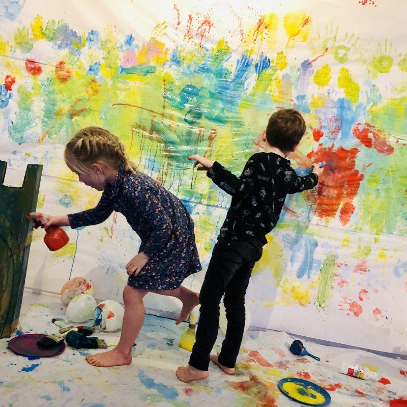 My Little van Gogh, een creatief kinderatelier waar kinderen de baas zijn en hun fantasie de vrije loop kunnen laten!