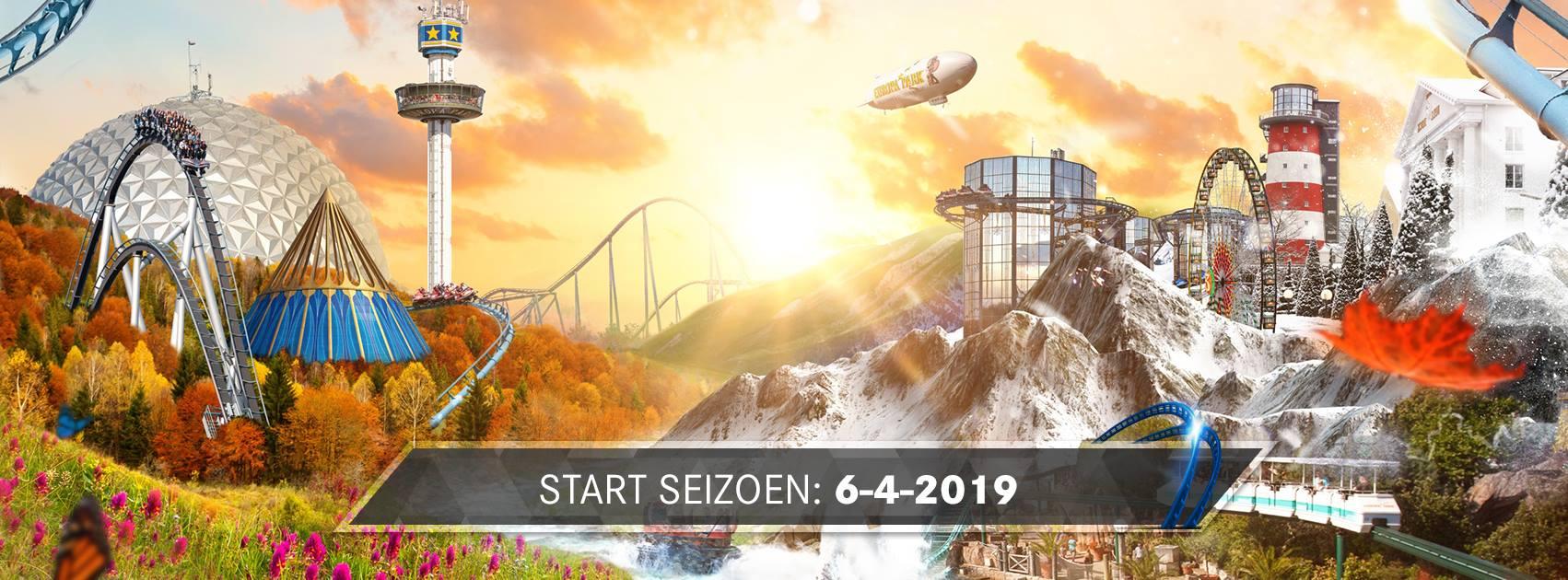 Europa-Park Duitsland, het pretpark voor families met kinderen