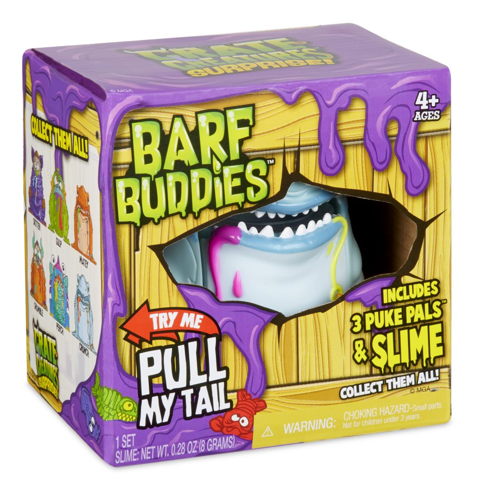 barf buddies crate creatures