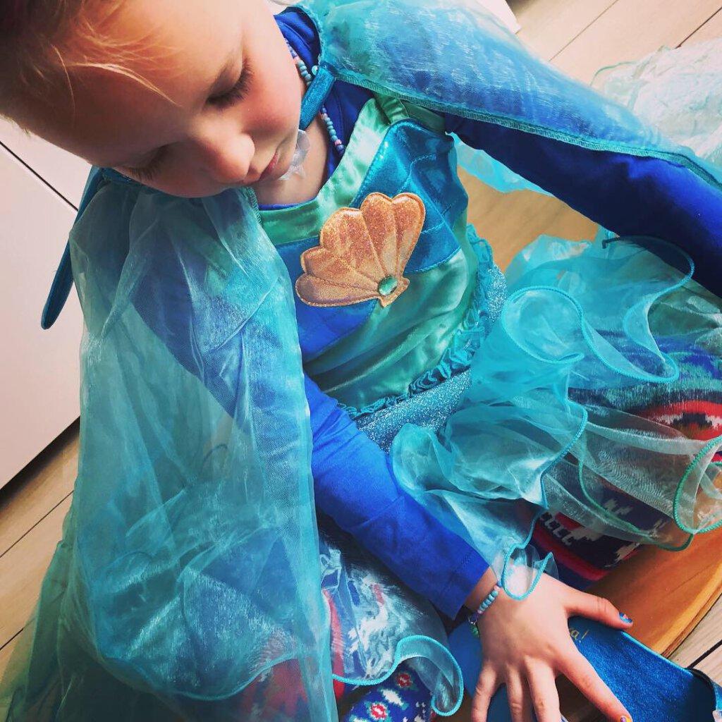prinsessen, kinderlijk kinderachtig zeemeermin souza