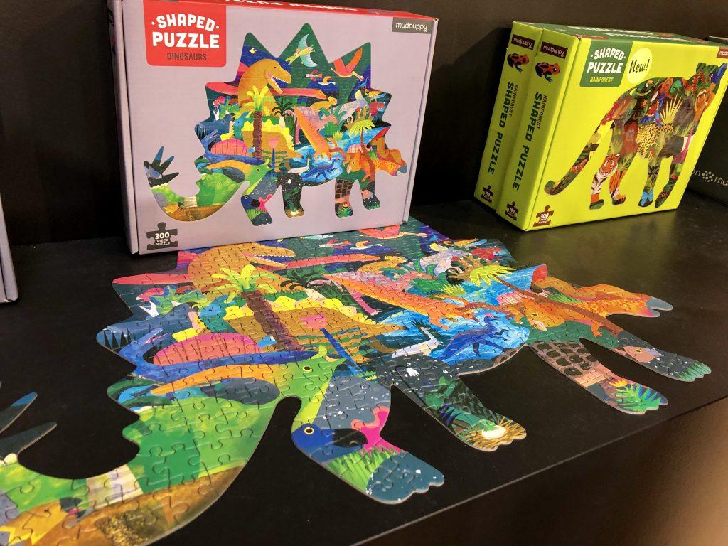 Betrof puzzel, schijf van vijf, speelgoed
