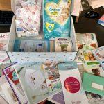 roze doos, la boîte rose, babybox, zwangerschapsbox, gratis