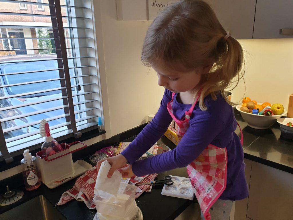 Totum eenhoorn knutselpakket, knutselset