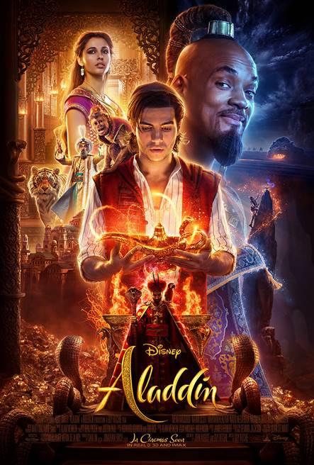 Aladdin: de straatrat en charmante jasmine op het grote scherm