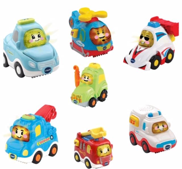 Toet Toet auto's hebben zeven nieuwe vriendjes!