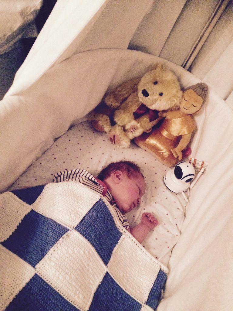 veilig slapen baby wiegje, bedenktijd