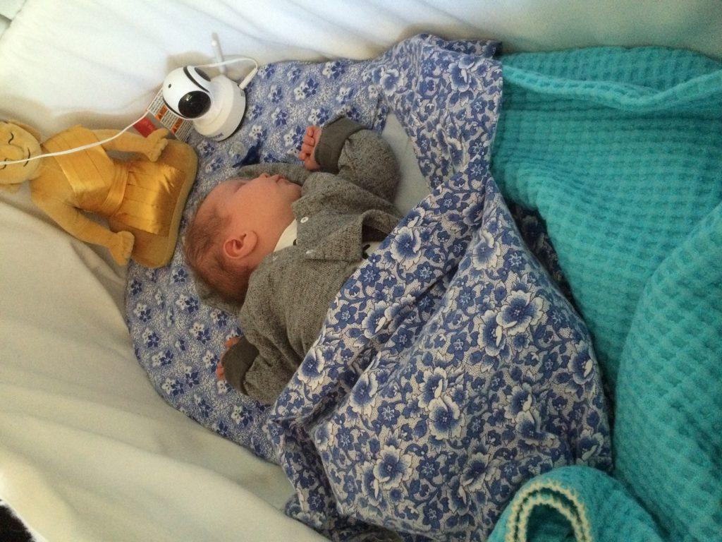 veilig slapen baby, koolstofmonoxide
