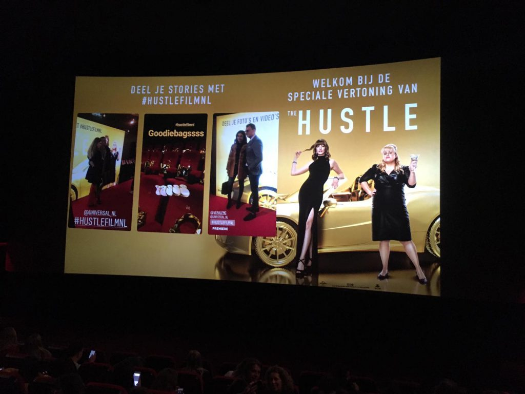 the hustle, premiere