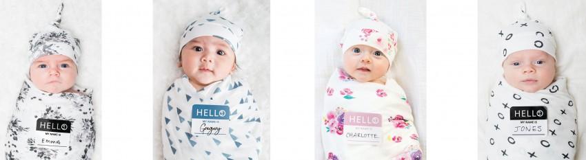 Lulujo Hello! World geboorteset, voor de perfecte eerste foto