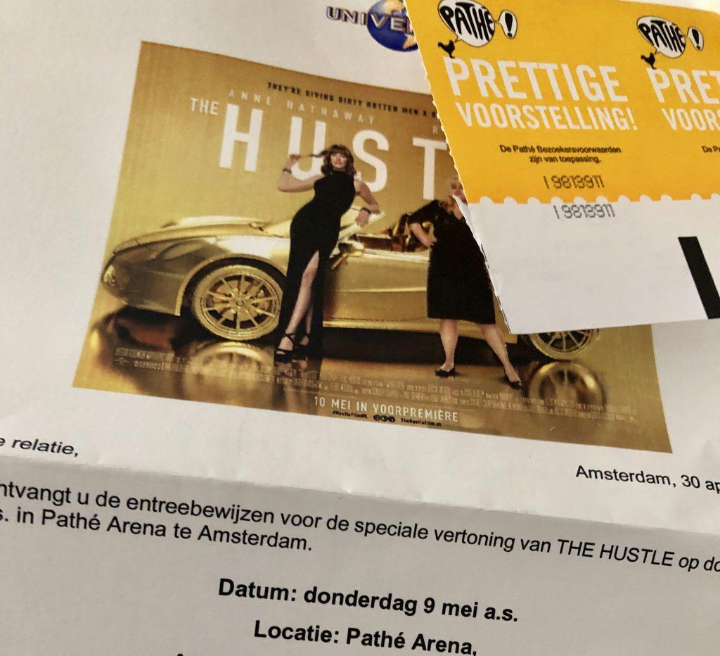 the hustle, bioscoop, premiere