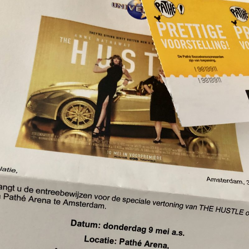 Hard lachen bij de premiere van THE HUSTLE
