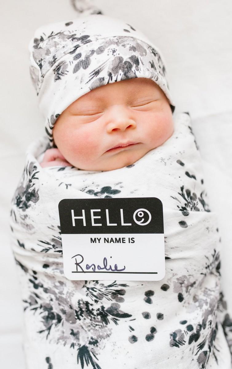 De allereerste foto. Mooie momenten om vast te leggen op baby's eerste dag.
